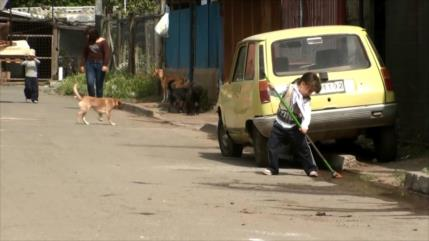 Pobreza, desigualdad económica y cesantía azotan a Chile