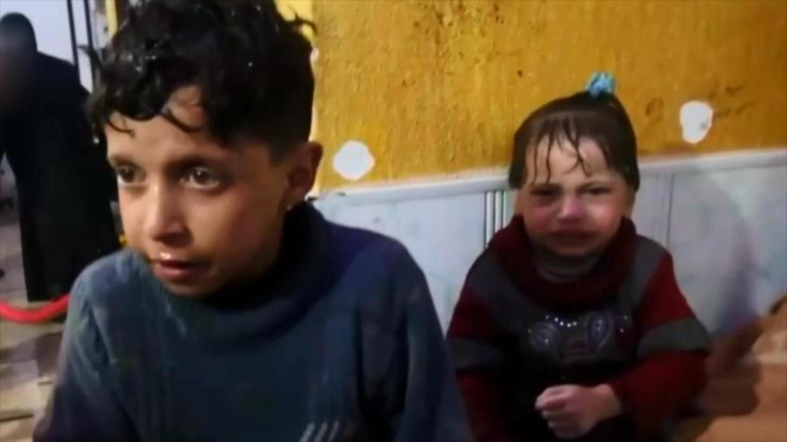 Rusia advierte de una provocación química de terroristas en Siria
