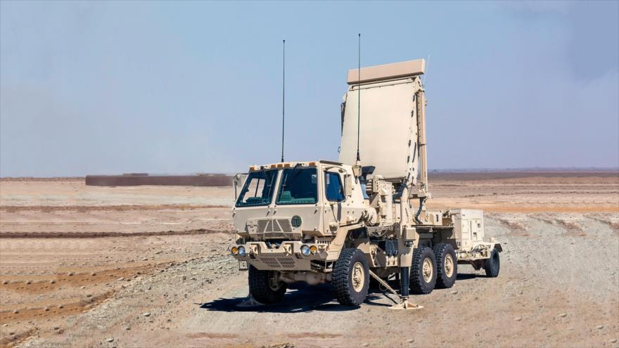 Sistema de radar estadounidense de Capacidad de Reacción Rápida AN / TPQ-53.