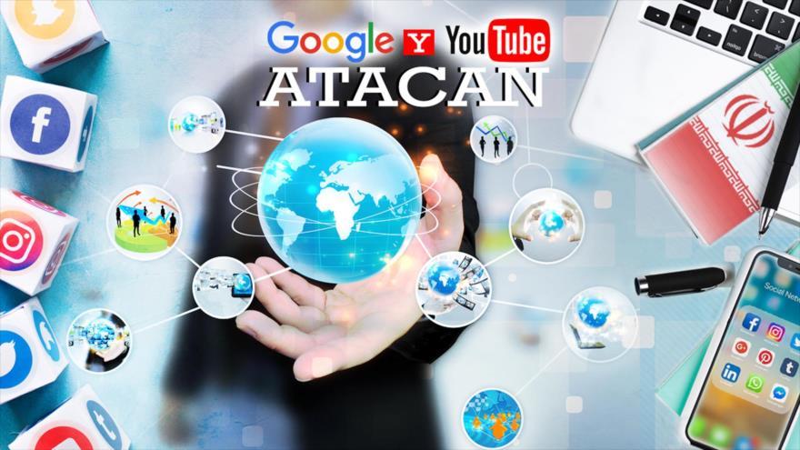 Detrás de la Razón: Mega operación de Facebook, Google y YouTube atacan a Rusia e HispanTV ¿Trump detrás?