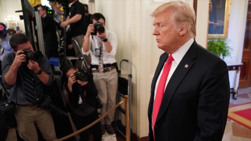 Informe: 'Trump cree que China busca castigarlo políticamente'