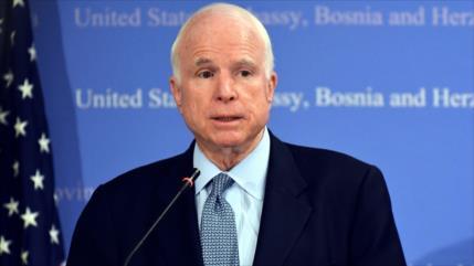 Muere el senador estadounidense John McCain a los 81 años