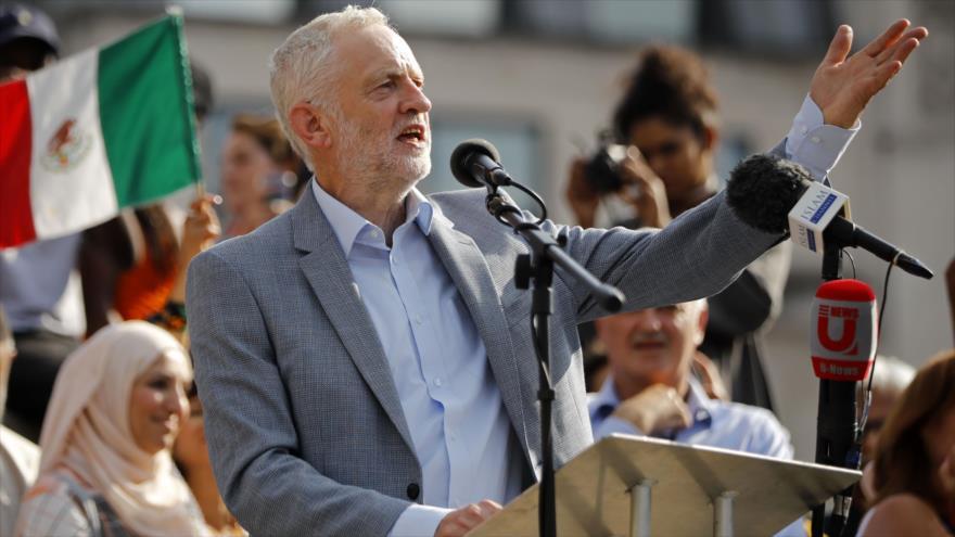 Informe: Israel lidera campaña de difamación contra Corbyn