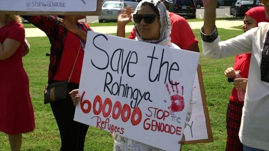 Activistas de EEUU responden al llamado del pueblo rohingya