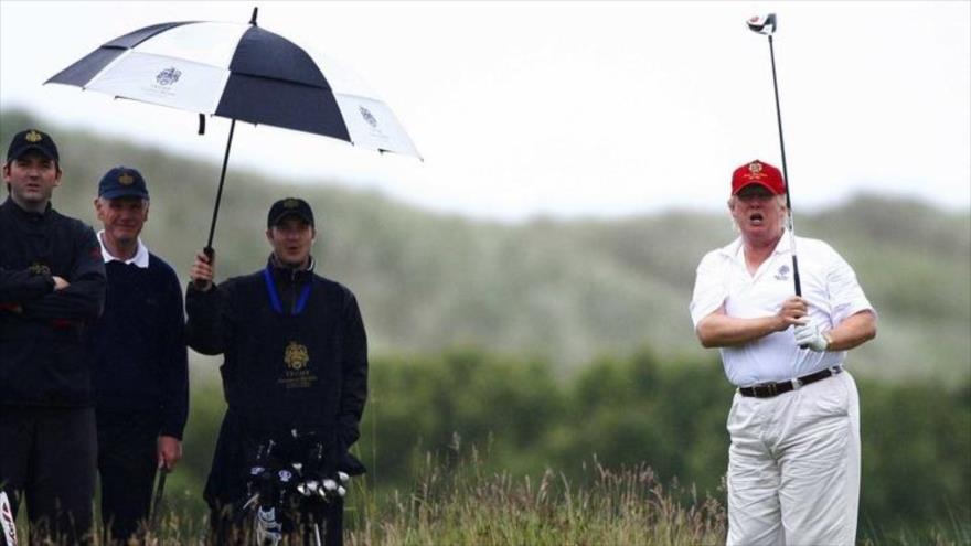 Presidente de EEUU ha pasado 25 % de mandato jugando al golfo
