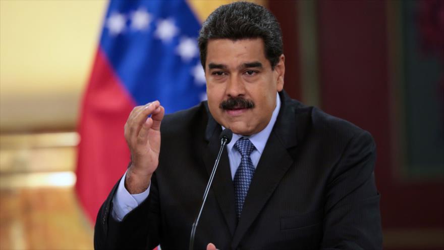 El presidente de Venezuela, Nicolás Maduro, 17 de agosto de 2018 (Foto: AFP).