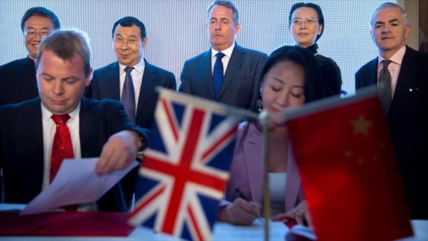 Pekín y Londres barajan firmar un acuerdo de libre comercio   HISPANTV