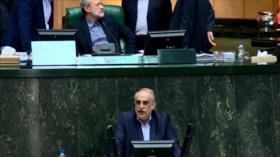 Tarjeta roja de los parlamentarios iraníes al ministro de Economía