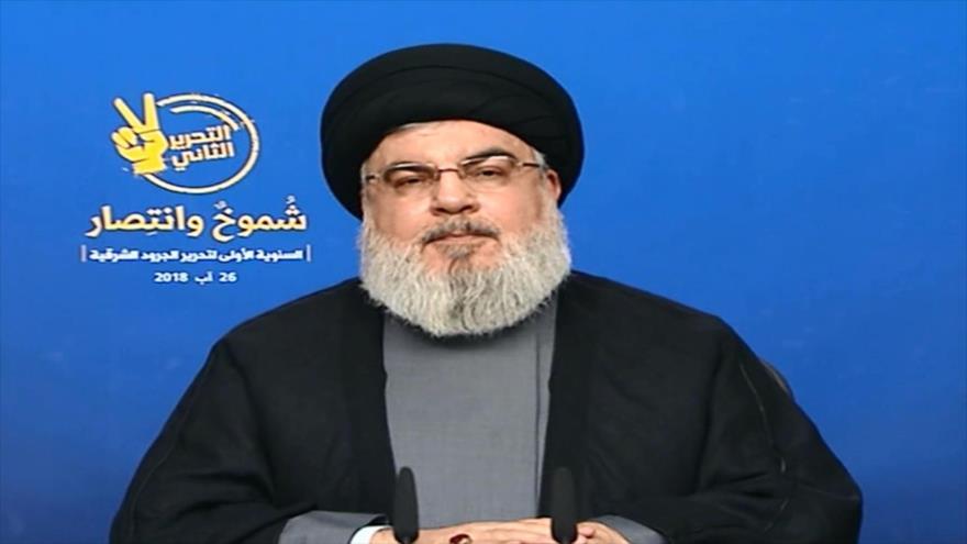 Nasralá alaba triunfo frente a EIIL y alerta de complots enemigos
