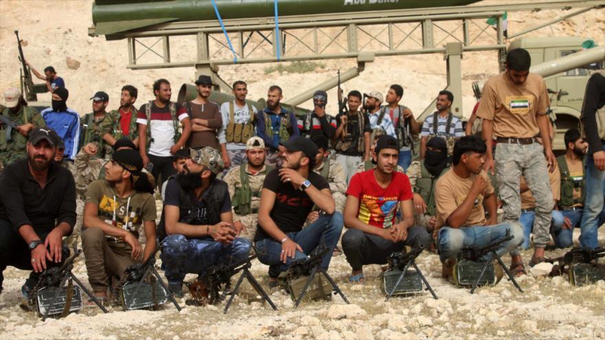 500 rebeldes se unen a la ofensiva antiterrorista de Siria en Idlib