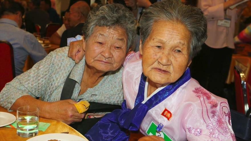 Reencuentros de familias coreanas tras 65 años de separación