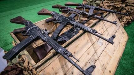 Vídeo: Armas de II Guerra Mundial incautadas a terroristas en Siria