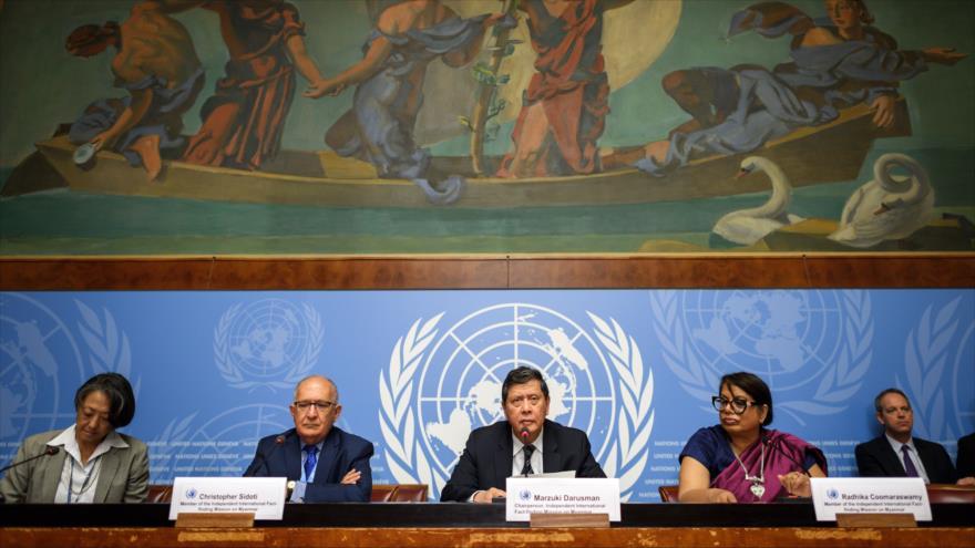 ONU ve genocidio en la operación contra rohingyas en Myanmar