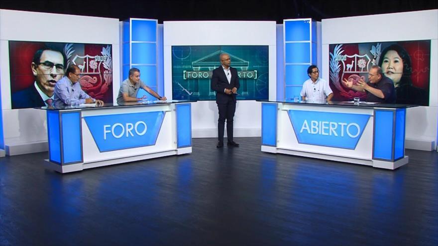 Foro Abierto; Perú: proyectan reformas política y judicial