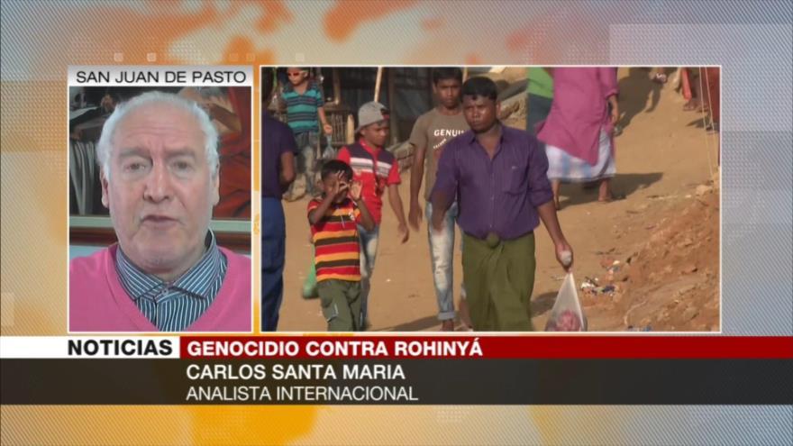 Santa María: Si EEUU decide, violencia contra rohingyas se acabará