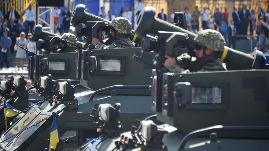 Rusia: EEUU multiplica esfuerzos para suministrar armas a Ucrania