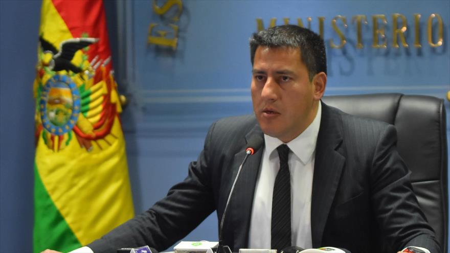 El ministro boliviano de Defensa, Javier Zavaleta.