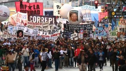 Argentinos rechazan la política de gatillo fácil de policías