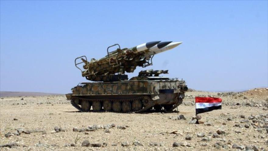 Defensa antiaérea siria, en máxima alerta, por posible ataque de EEUU