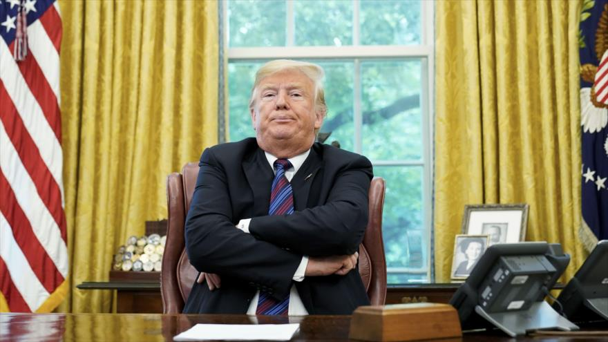 Encuesta en EEUU: 44% quieren que comience 'impeachment' de Trump