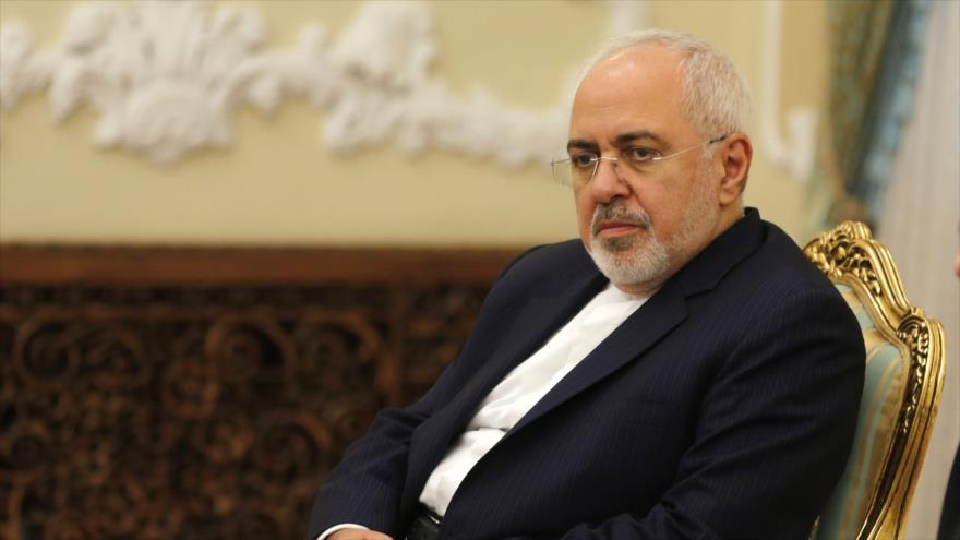 El canciller de Irán, Mohamad Yavad Zarif, en la capital iraní, Teherán, 8 de agosto de 2018. (Foto: AFP)
