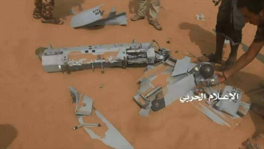 Ejército de Yemen derriba un dron de reconocimiento saudí