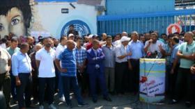 Nueva manifestación en Gaza ante decisiones tomadas por la UNRWA