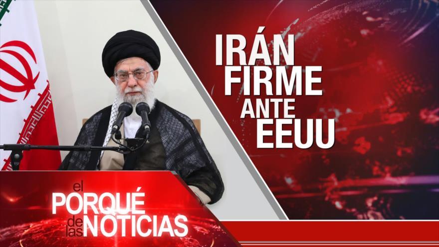 El Porqué de las Noticias: Irán no dialogará con EEUU. Presión de EEUU contra Palestina. Impacto negativo del FMI en Argentina.