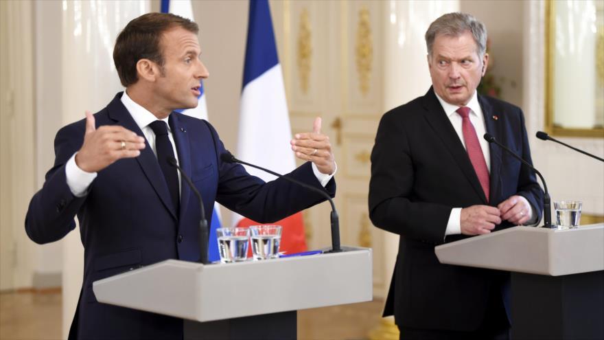 Macron aboga por actualización de lazos Rusia-UE en post-Guerra Fría