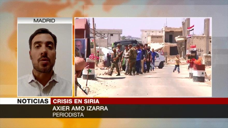 Amo Izarra: Terceros países proveen productos químicos en Idlib