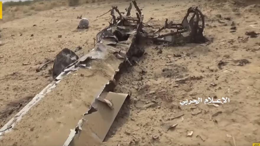 Vídeo: Ansarolá derriba un dron de ataque saudí en el norte de Yemen