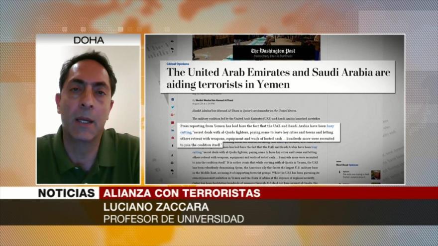 Zaccara: EAU y Riad provocan desastre humanitario en Yemen