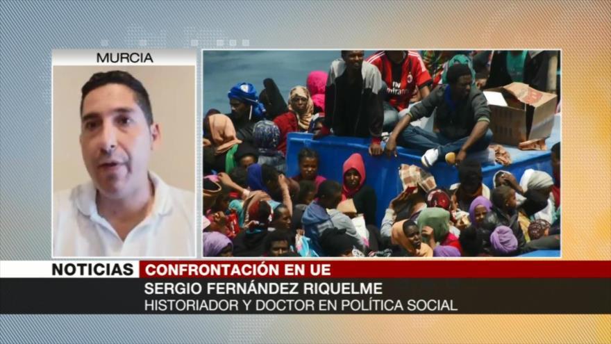 Sergio Fernández Riquelme: Europa fracturada por crisis migratoria