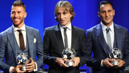 Modric, Ramos y Navas ganan premios de la UEFA 2018