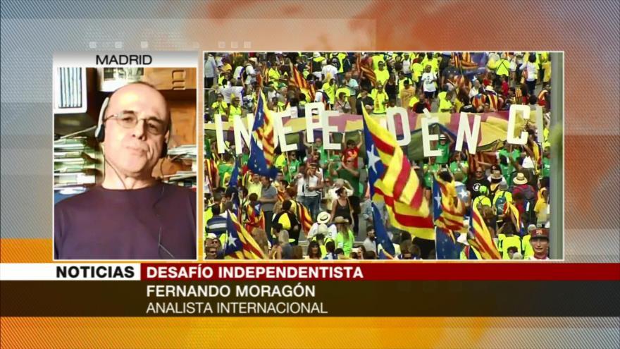 Moragón: Crisis de Cataluña es un problema de muy difícil solución | HISPANTV