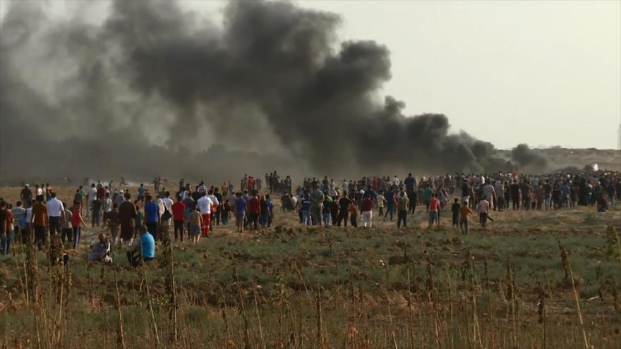 23 semanas de protestas en Gaza por el derecho al retorno