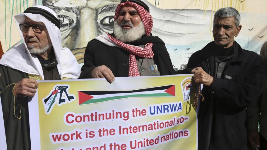 Grupos palestinos de Resistencia denuncian recorte de fondos de EEUU