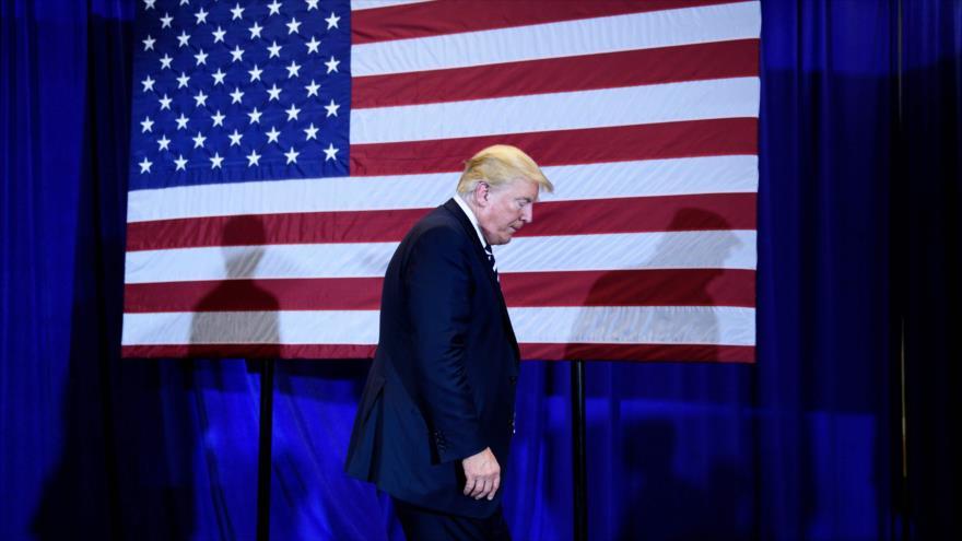 60% de estadounidenses desaprueba gestión de 'animal herido' de Trump