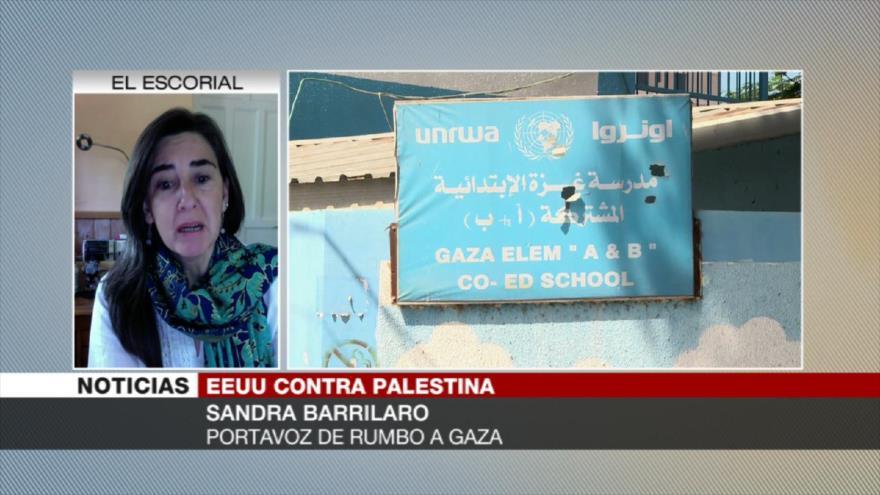 Sandra Barrilaro: EEUU busca debilitar a la Resistencia palestina