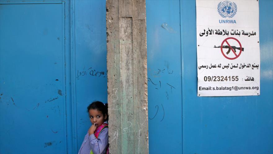 UNRWA expresa 'profundo pesar y decepción' por decisión de EEUU