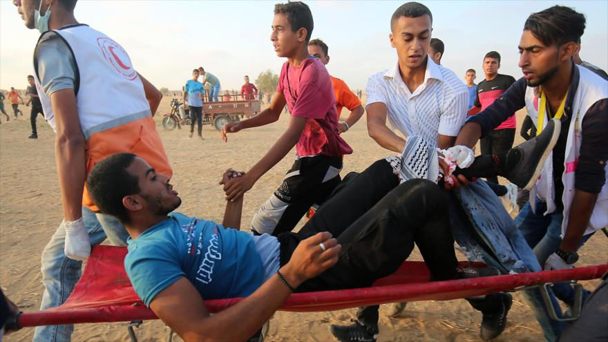 Informe: Israel mató a 19 palestinos e hirió a 1600 en agosto