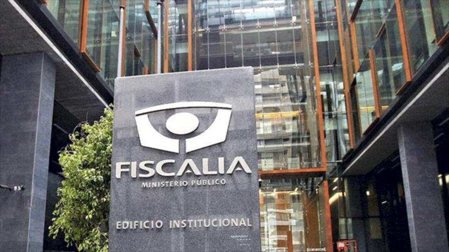 La sede principal de la Fiscalía de Chile en Santiago, la capital chilena.