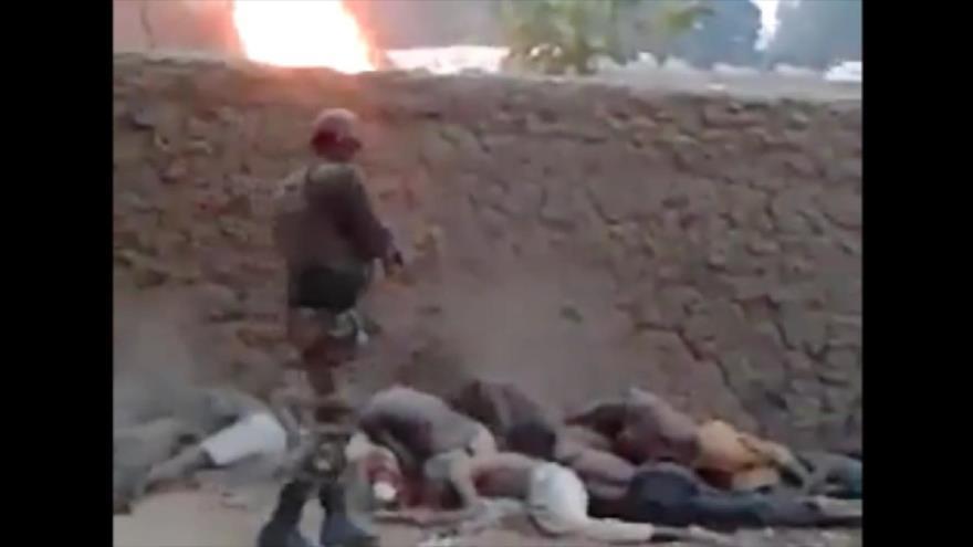 Vídeo: Socios africanos de EEUU masacran a civiles en Camerún