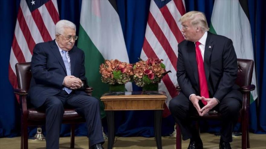 Trump ofrece a Abás antiguo plan de confederación Palestina-Jordania