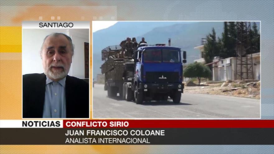 Coloane: Sería un grave error si EEUU ataca a Siria