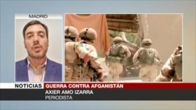 Izarra: Tras 17 años de fracasos, OTAN llama a Talibán a la paz