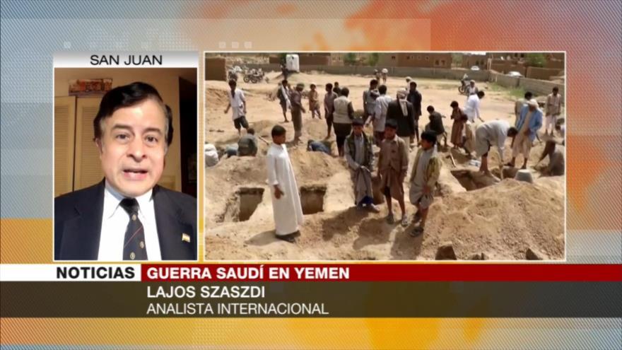 Szaszdi: Riad intenta tapar sus crímenes en Yemen como EEUU en Siria