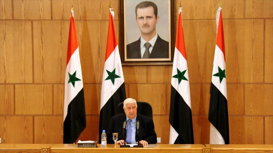 Damasco: Complot de armas químicas es solo para agredir a Siria