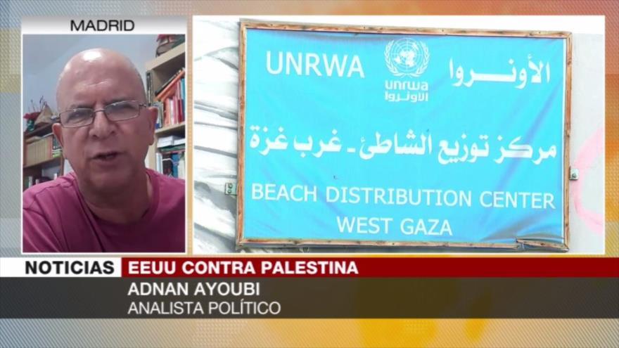 Ayoubi: Trump toma decisiones que le imponen Netanyahu y Mossad