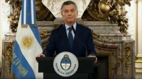 Macri anuncia nuevas medidas de austeridad para Argentina